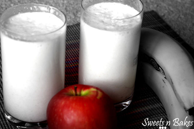 Apple-Banana-Milkshake-Recipe