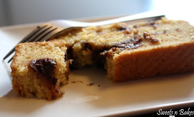 Nutella-Mango-Cake