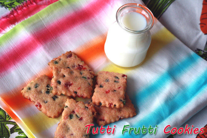 Eggless-Tutti-Frutti-Cookies-Recipe