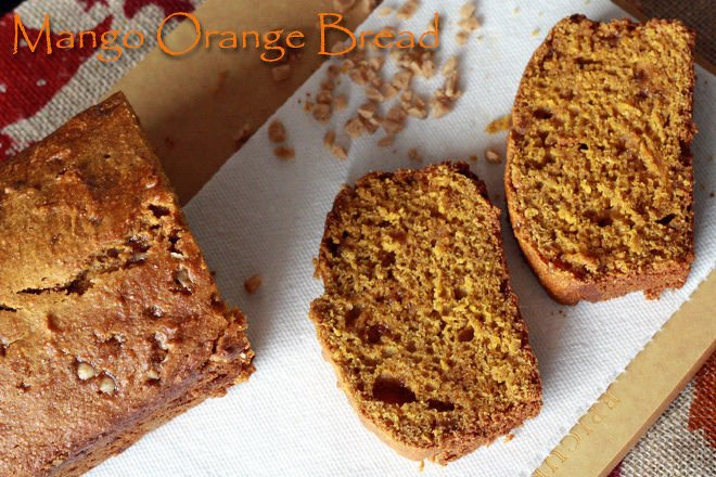 Mango-Orange-Bread