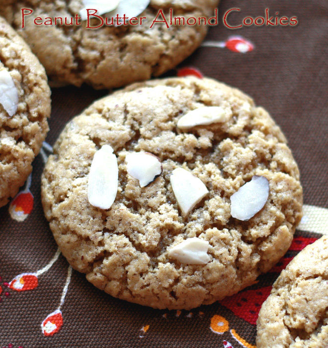 Peanut-Butter-Almond-Cookies-1