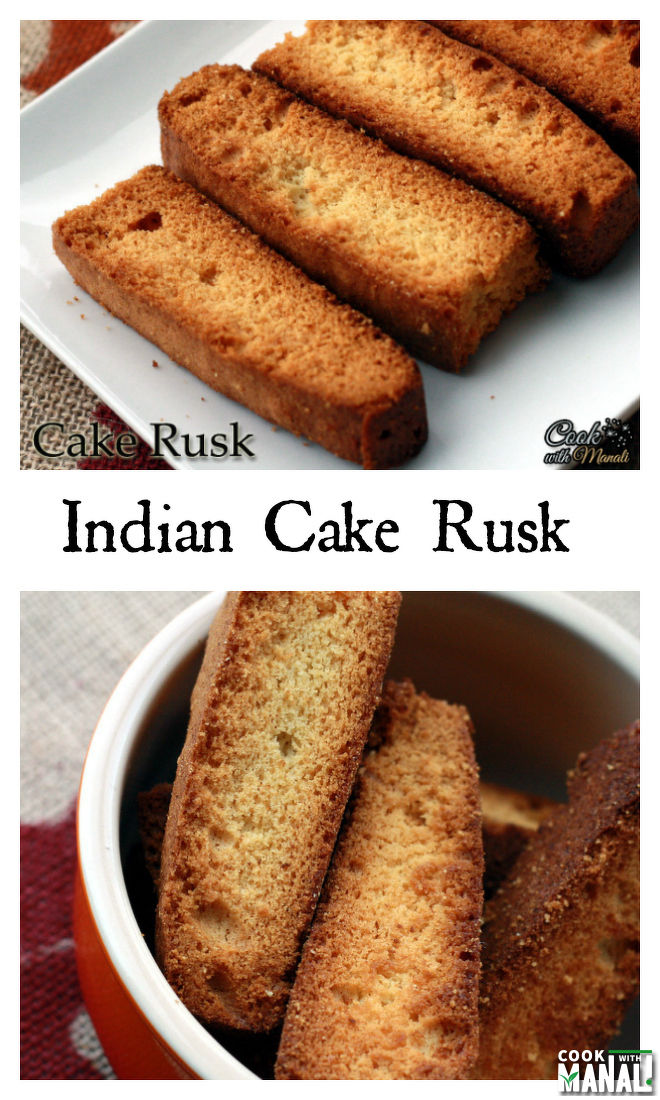 Cake Rusk Indian Collage
