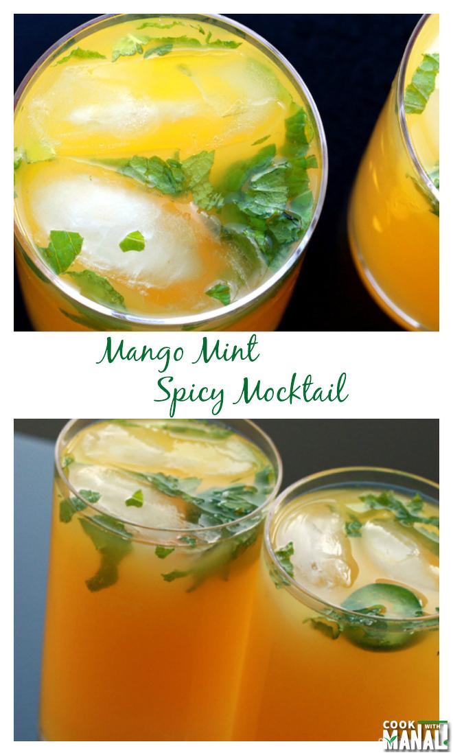 Mango-Mint-Mocktail Collage