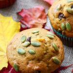 Pumpkin Muffins with Chocolate Chip Recipe