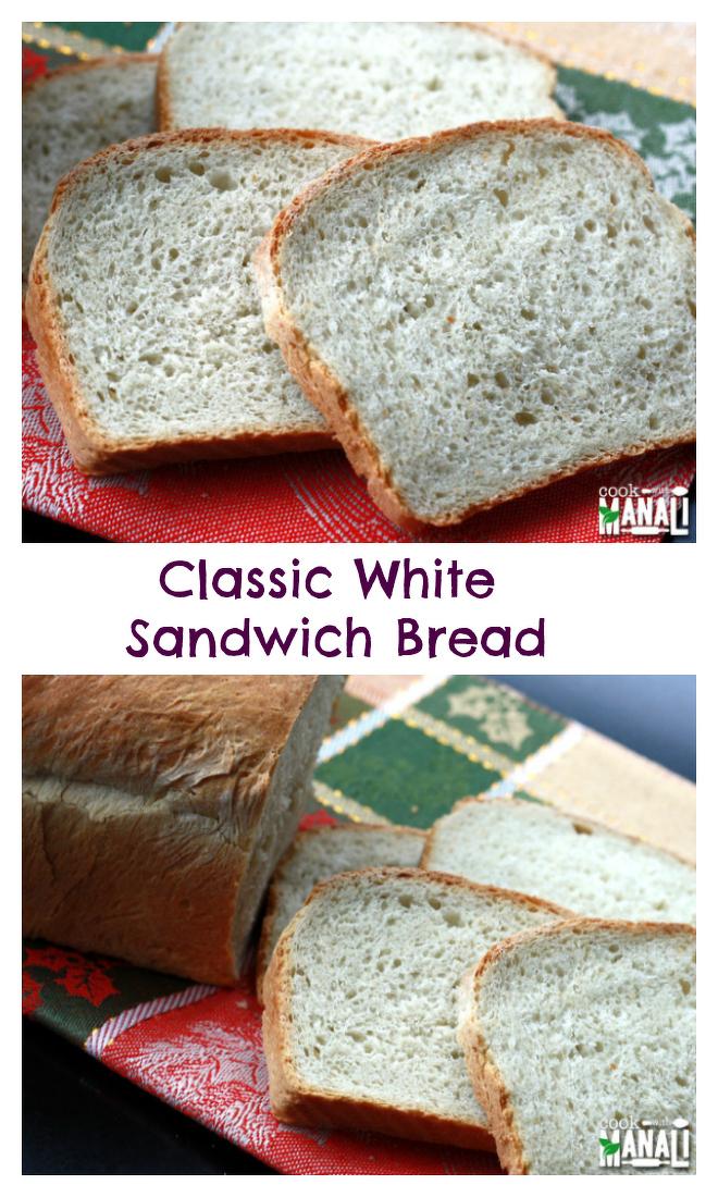 White Sandwich Bread Recipe-Collage-nocwm