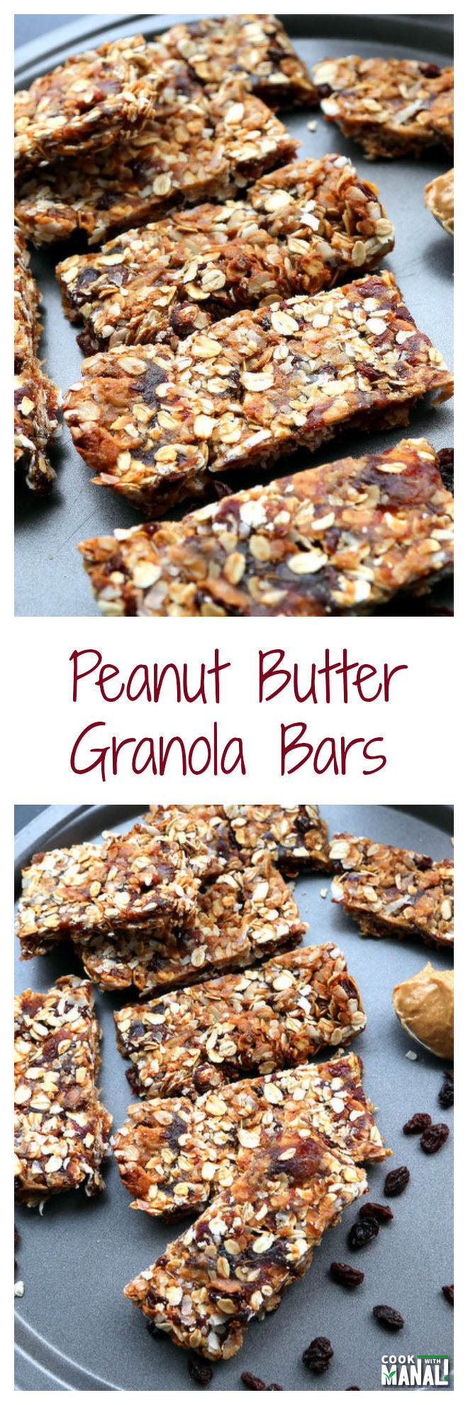 Peanut-Butter-Granola-Bars-Collage