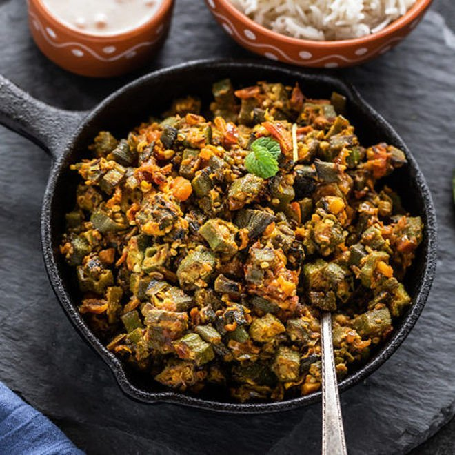 Bhindi Masala Cook With Manali
