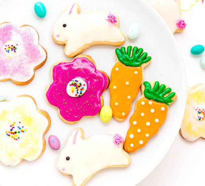 Eggless Easter Sugar Cookies Cook With Manali