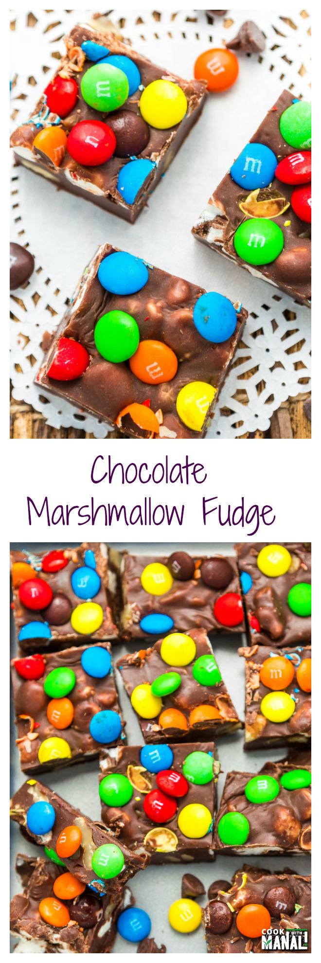 Chocolate-Marshmallow-Fudge-Collage