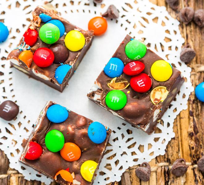 Chocolate-Marshmallow-Fudge