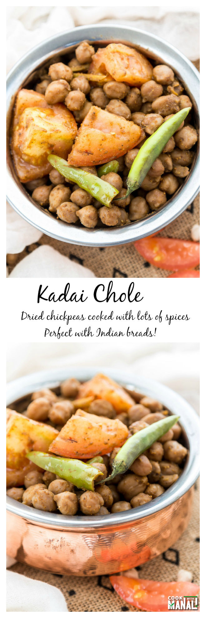 Kadhai-Chole Collage
