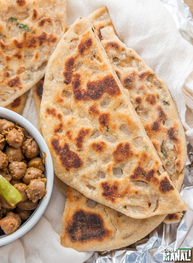 Onion Kulcha Recipe