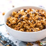 Peanut Butter Chocolate Chip Coconut Granola