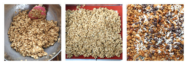 Peanut Butter Chocolate Granola Recipe Step-2