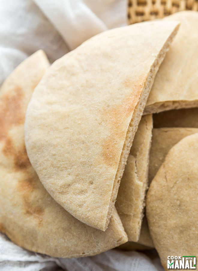 Whole Wheat Pita Bread Cook With Manali