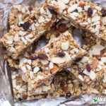 Almond Raisin Granola Bars