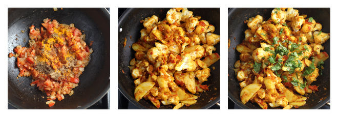 Aloo Gobi Recipe-Step-4