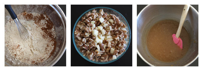 Apple Spice Cake Recipe-Step-1