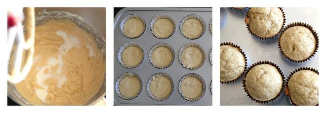 Banana Cupcakes Recipe-Step-3