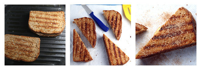 how to make a grilled peanut butter sandwich