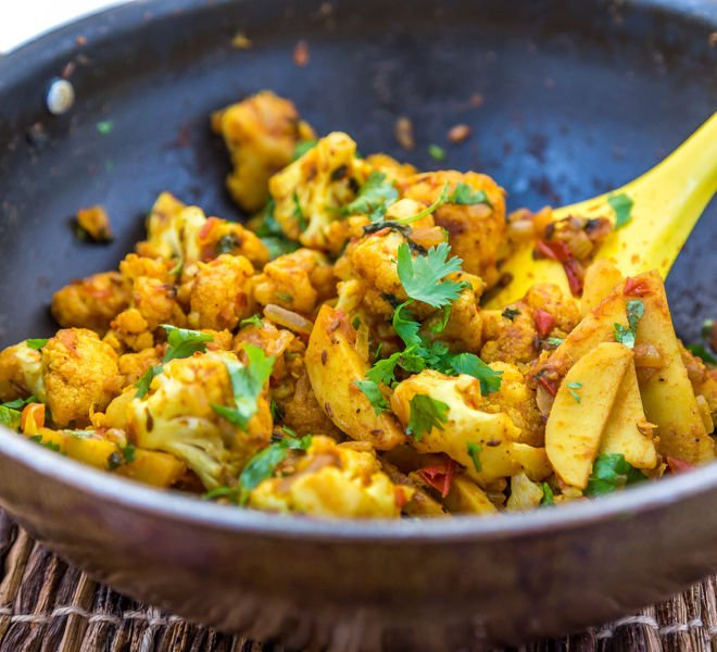 Aloo Gobi - Potatoes & Cauliflower