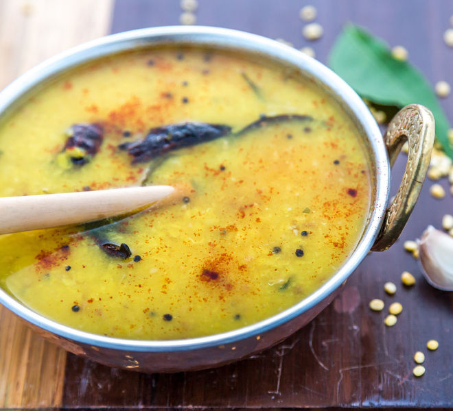 how to cook moong dal in pressure cooker