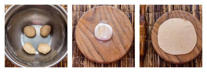 Peanut Butter Paratha-Recipe-Step-2