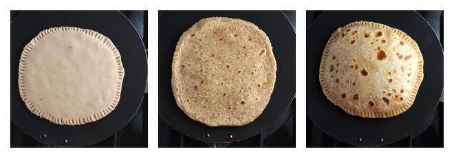 Peanut Butter Paratha-Recipe-Step-4