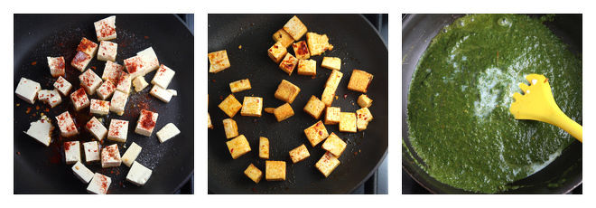Tofu Palak-Recipe-Step-4