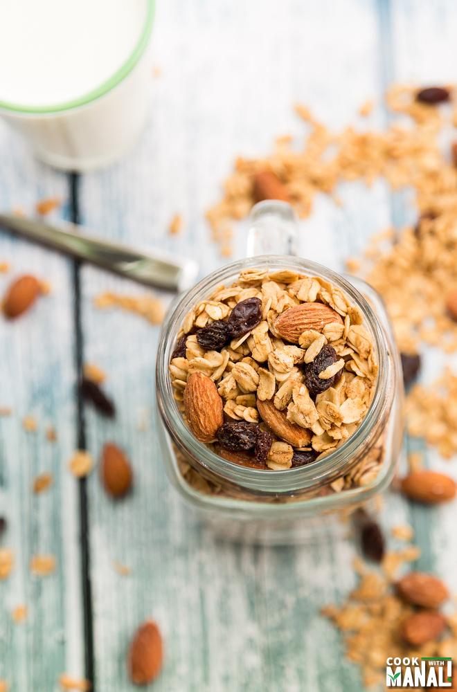 Almond Maple Granola Recipe