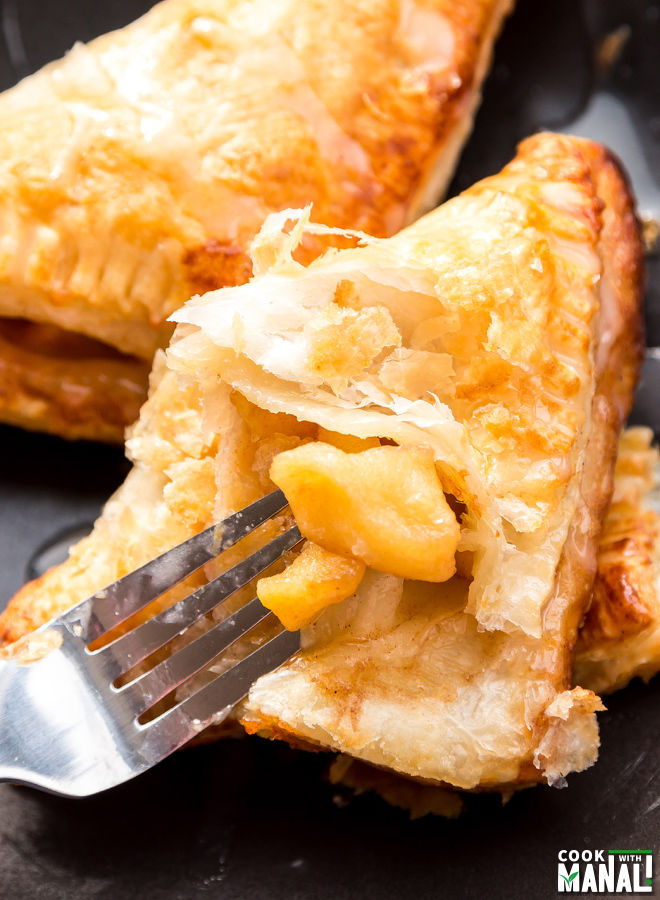 Apple Turnovers with Puff Pastry
