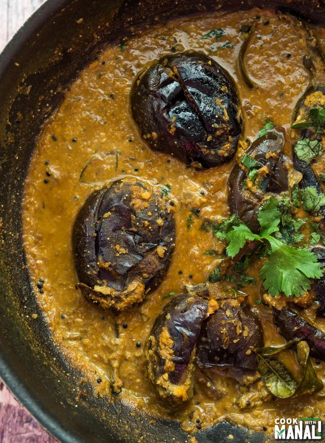 Baghare Baingan-Eggplant Curry