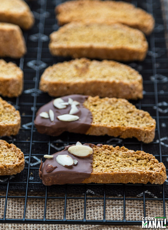 Pumpkin Biscotti - Cook With Manali