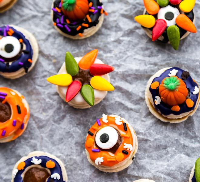 Donut Macarons