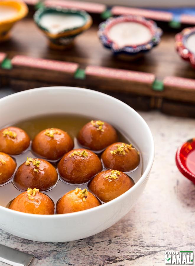 Gulab Jamun - Indian Sweet