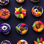 Halloween Donut Macarons