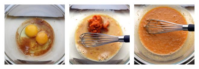 Pumpkin Biscotti Recipe-Step-2