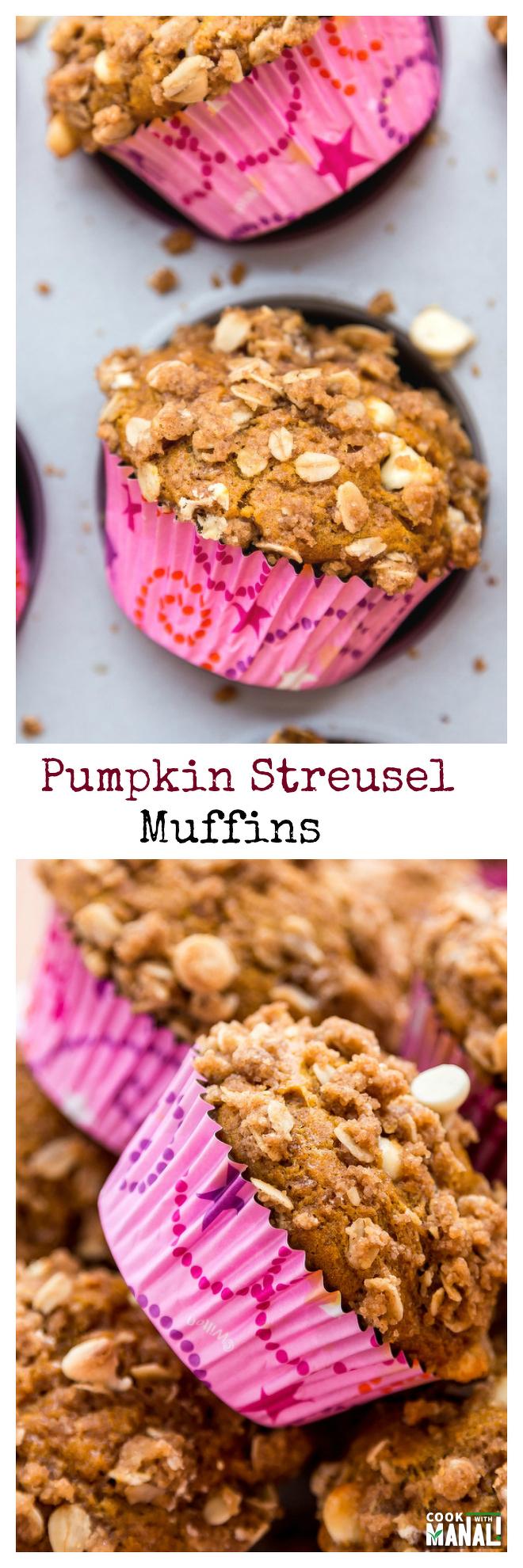 pumpkin-streusel-muffins-collage