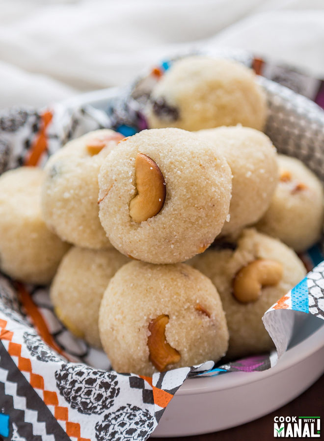 Sooji Rava Ladoo Easy Diwali Sweet Cook With Manali