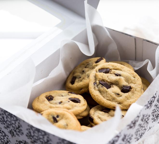 Soft & Chewy Chocolate Chunk Cookies