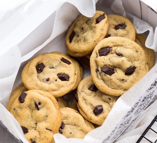 Soft Chocolate Chunk Cookies