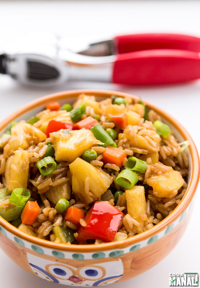 Veggie Pineapple Fried Rice