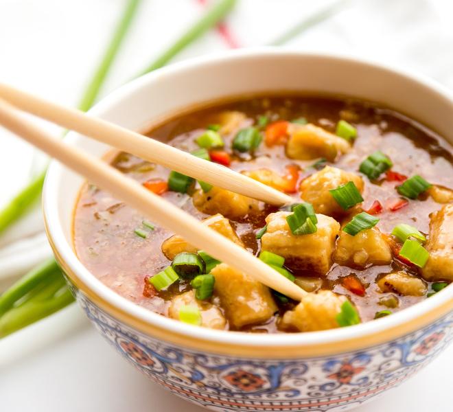 Baby Corn Manchurian Indo Chinese