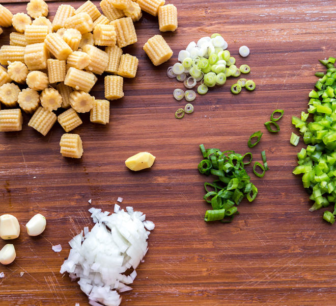 Baby Corn Manchurian Ingredients