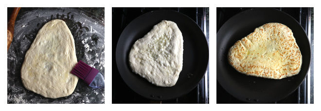 Butter Naan Recipe-Step-5