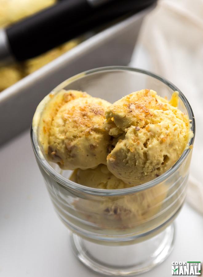 Butterscotch Crunch Ice Cream