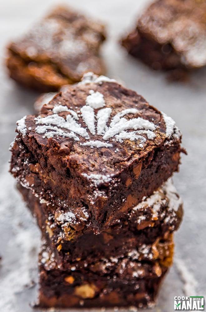 Caramel Pecan Brownies Recipe