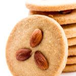 Eggless Almond Cookies