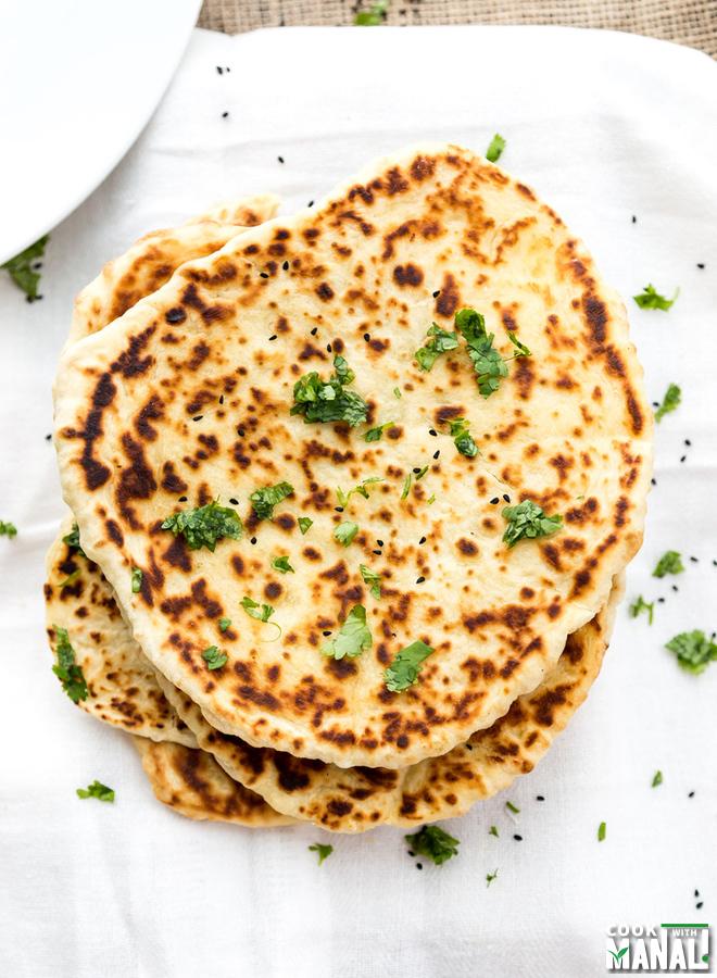 Homemade Butter Naan