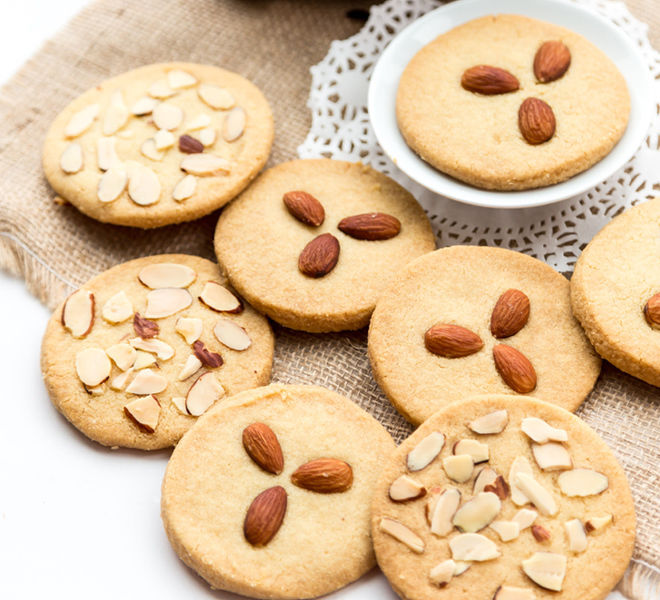 Indian Almond Cookies